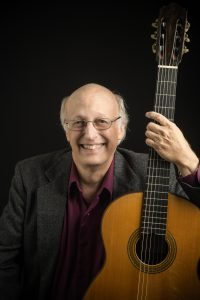 Jim McCutcheon Studio Portrait, 8-30-18, Music, Adjunct Faculty, guitar
